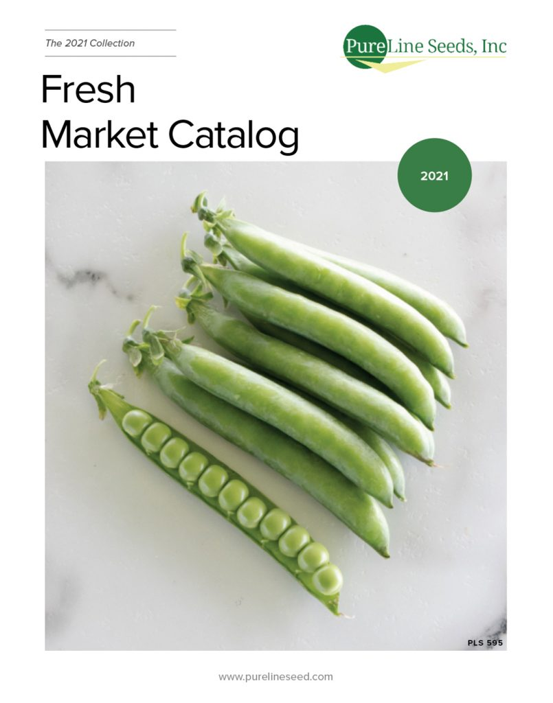Fresh market catalog has varieties ranging from tomatoes to broccoli. This catalog has all of the varieties currently available for the fresh market.